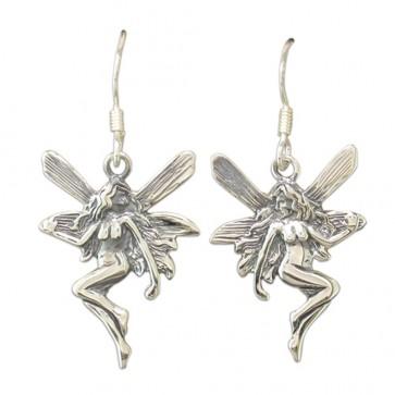 Sterling Silver Fairy Drop Earrings
