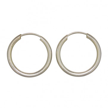 Sterling Silver 22MM Hoop Earrings