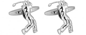 Novelty Golf 3D Cut-Out Cufflinks
