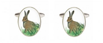 Novelty Hare Cufflinks