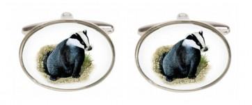 Novelty Badger Cufflinks