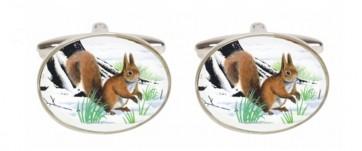 Novelty Squirrel Cufflinks