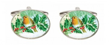 Novelty Robin Cufflinks