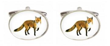 Novelty Fox Cufflinks