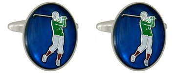 Novelty Golf Cufflinks