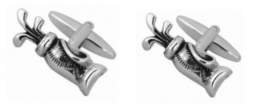 Novelty Golf Bag Cufflinks