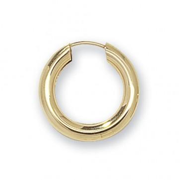 9ct Yellow Gold 18MM Sleeper Earrings