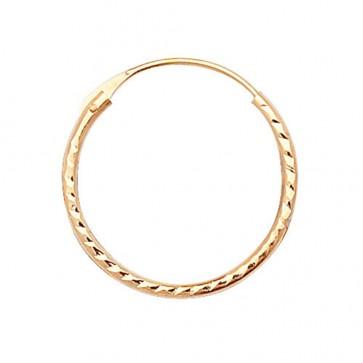 9ct Yellow Gold Sleeper Earrings
