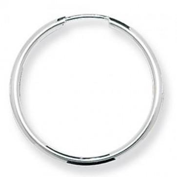 Sterling Silver 25MM Sleeper Earrings