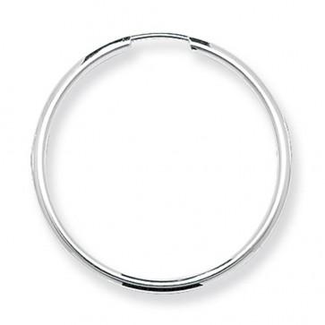 Sterling Silver 30MM Sleeper Earrings