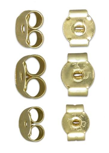 9ct Gold Butterfly Back Earring Kit